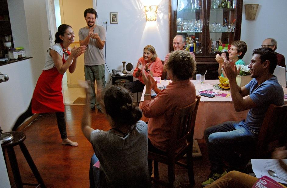 Mostra Cenas em Casa